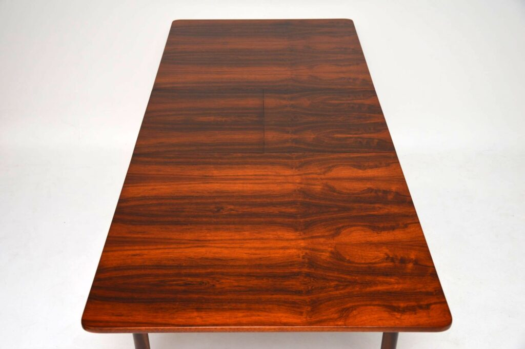 rosewood vintage dining table by mcintosh