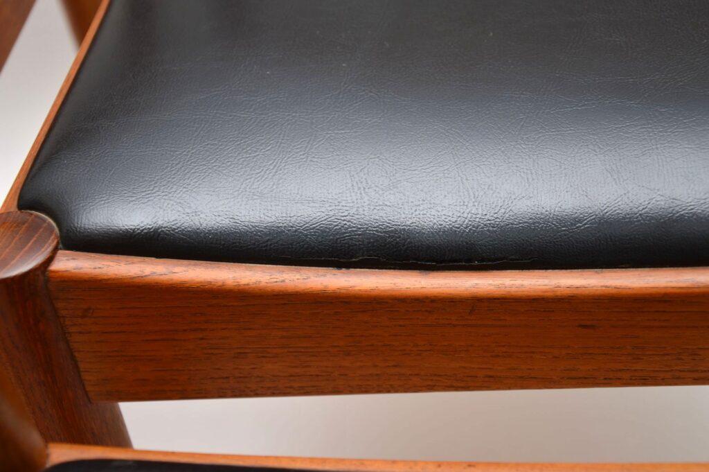 set of six danish teak dining chairs norgaards