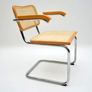 set of six vintage dining chairs marcel breuer cesca chairs