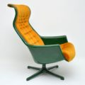 1970's Vintage Swedish 'Galaxy' Armchair by Alf Svensson for Dux