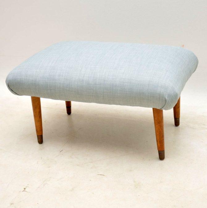 vintage 1950s foot stool