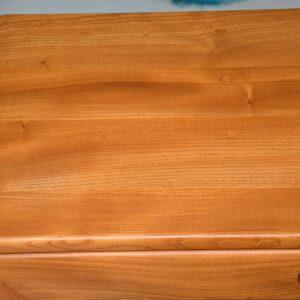 vintage ercol elm bureau cabinet