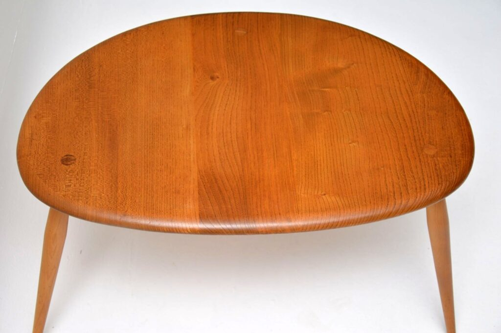 vintage ercol pebble nest of tables