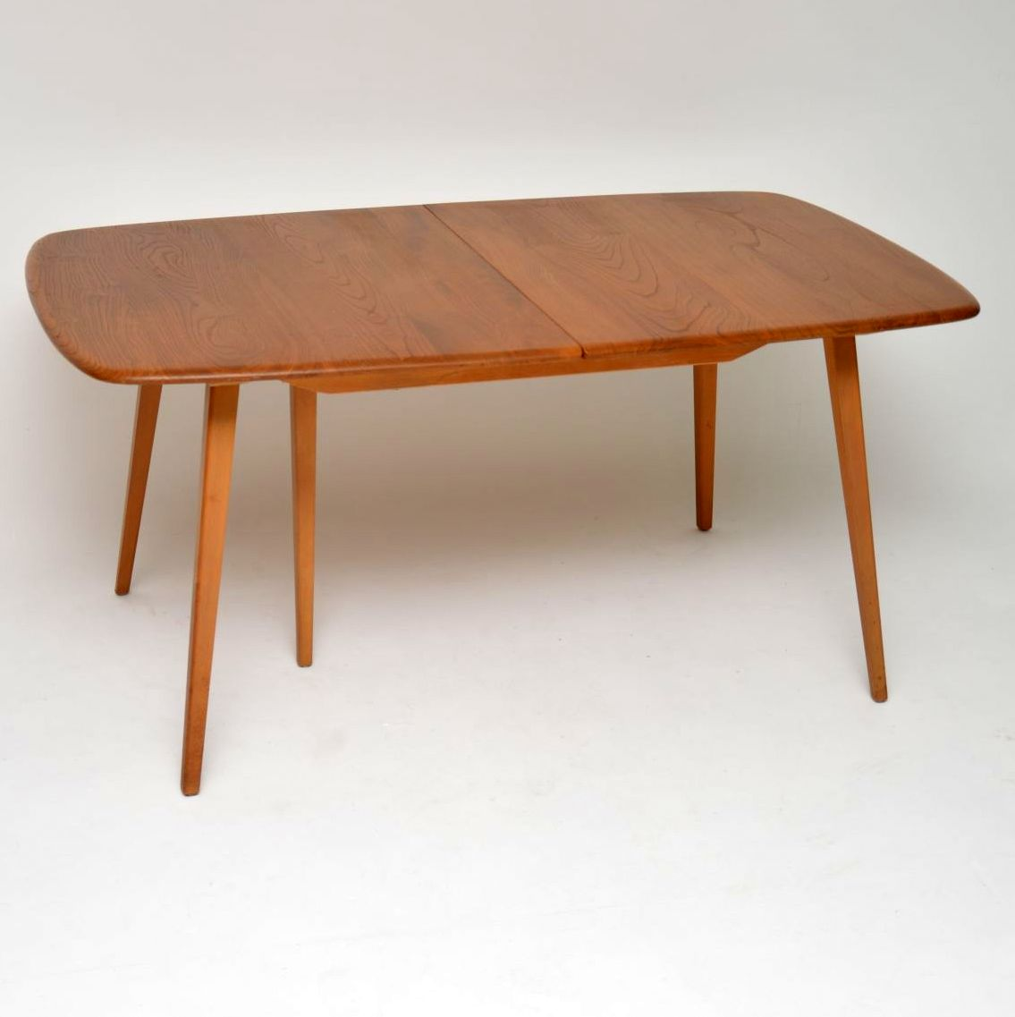 1960 S Vintage Ercol Grand Windsor Dining Table In Solid