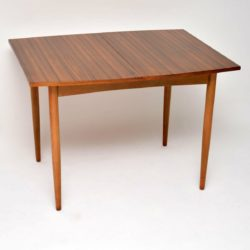 1960's Vintage Walnut Extending Dining Table by Morris of Glasgow