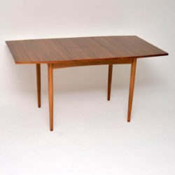 vintage retro walnut dining table morris of glasgow