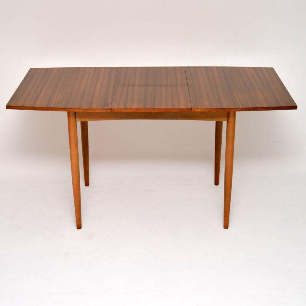 vintage retro walnut dining table morris of glasgow