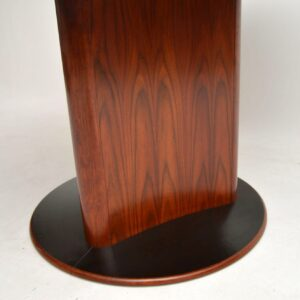1970's Danish Rosewood Extending Dining Table by Skovby