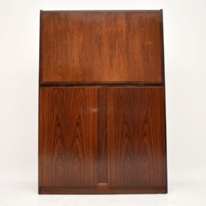 danish rosewood retro vintage writing bureau