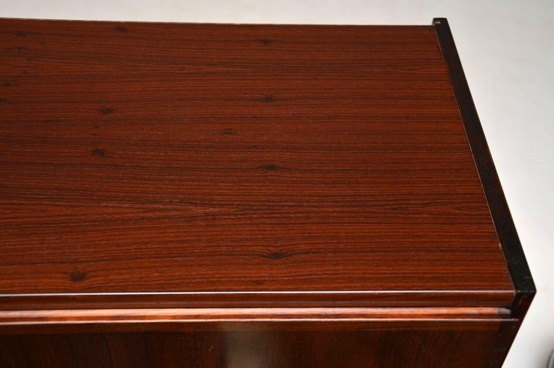 danish rosewood retro vintage writing bureau