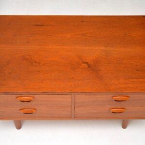 danish teak vintage sideboard chest of drawers kai kristiansen