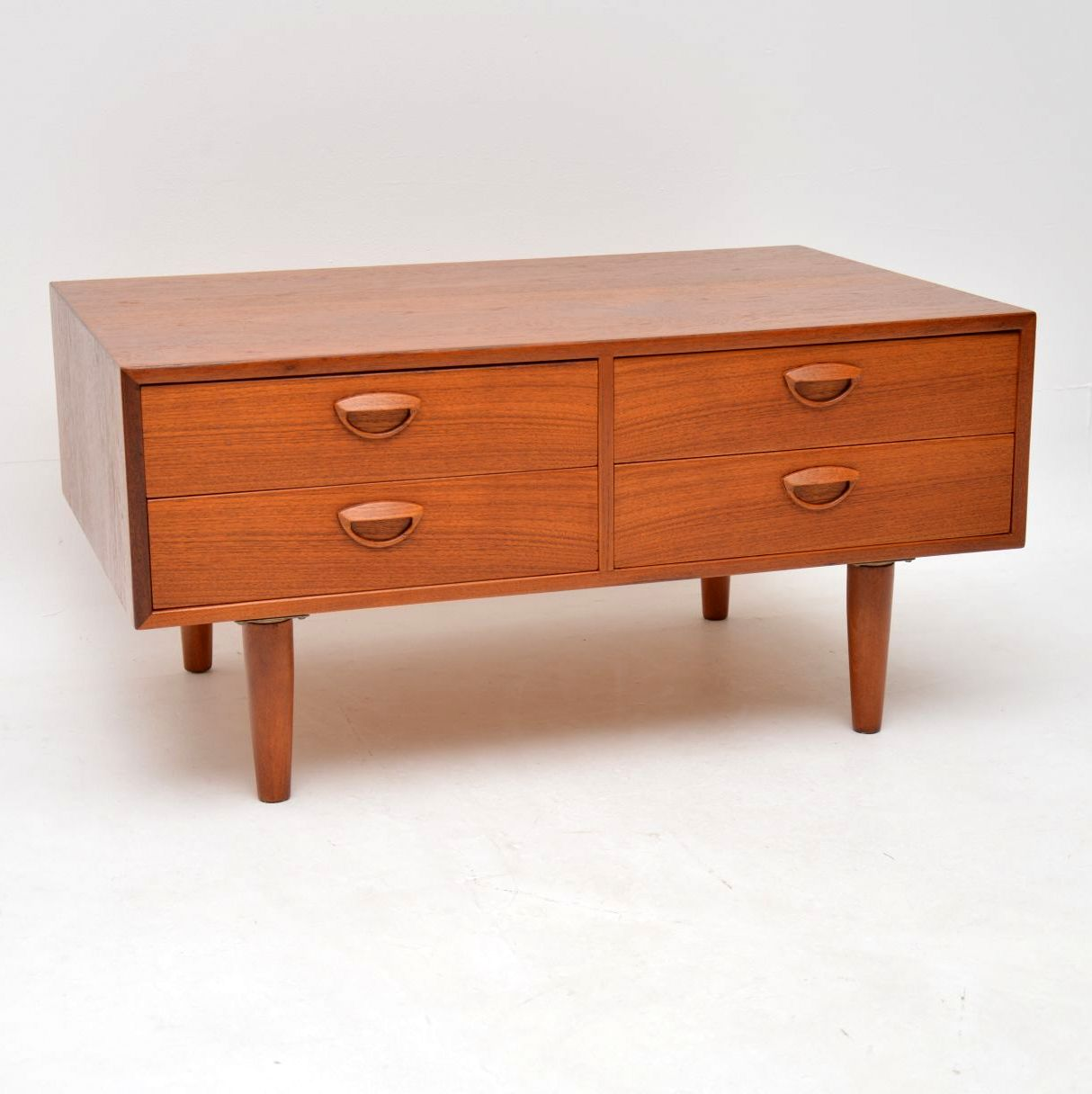danish teak vintage sideboard chest of drawers kai kristiansen