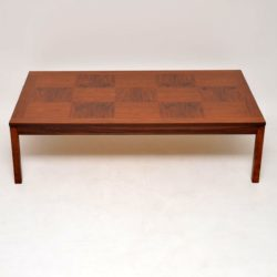 1970's Vintage Scandinavian Rosewood Coffee Table