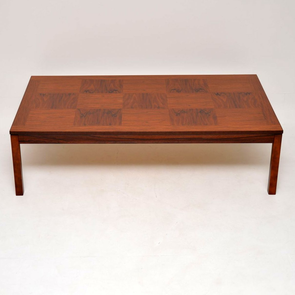 vintage retro rosewood danish coffee table