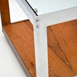 retro rosewood vintage merrow associates coffee table