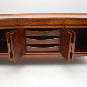 vintage retro rosewood sideboard by robert heritage archie shine