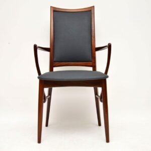 danish rosewood dining chairs niels koefoed