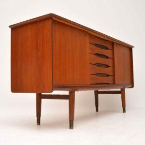 teak vintage retro sideboard fredrik kayser bahus
