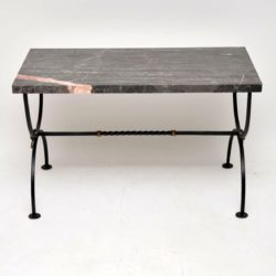 antique vintage marble coffee table