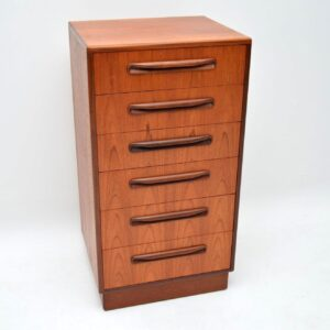 teak vintage chest of drawers by g- plan