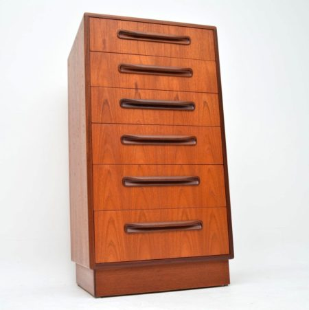 1960's Teak Tall Boy Chest of Drawers by G- Plan