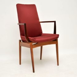 archie shine robert heritage vintage rosewood dining chairs