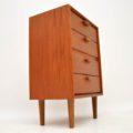 1960's Vintage Danish Teak Chest of Drawers