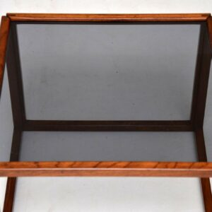 danish rosewood retro vintage cube coffee table kai kristiansen