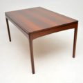 1960's Vintage Danish Rosewood Dining Table by Bordum & Nielsen