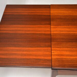 danish retro vintage rosewood dining table bordum and nielsen