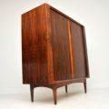 1960's Vintage Danish Rosewood Cabinet by Bernhard Pedersen & Son