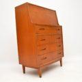 1960's Vintage Teak Writing Bureau
