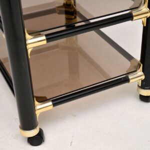 vintage retro italian side table 1970's