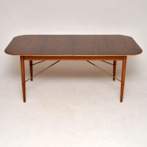 robin day hille rosewood vintage retro dining table chairs