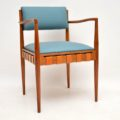 1950's Rosewood & Mahogany Dining Table & Chairs by Robin Day for Hille