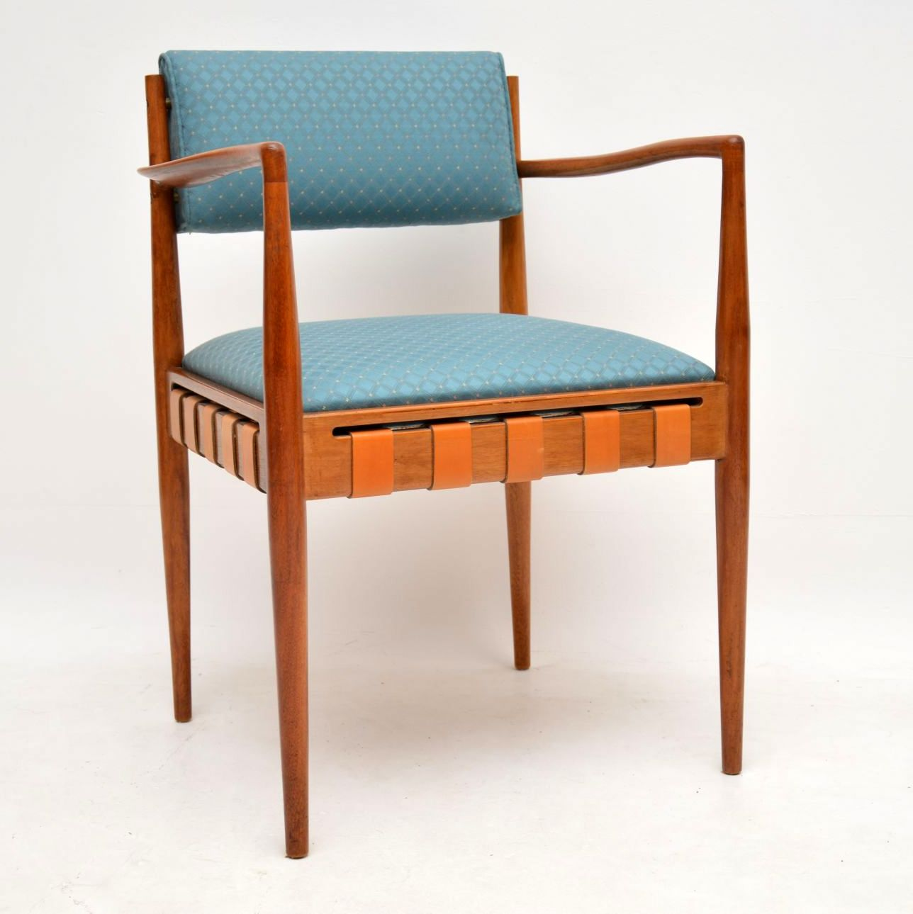 1950's Rosewood & Mahogany Dining Table & Chairs by Robin ...