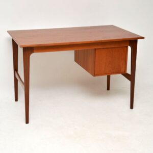 danish teak retro vintage desk