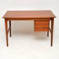 1960's Vintage Danish Teak Desk