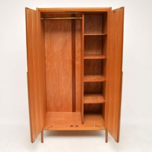 1960's Vintage Walnut Wardrobe by Younger
