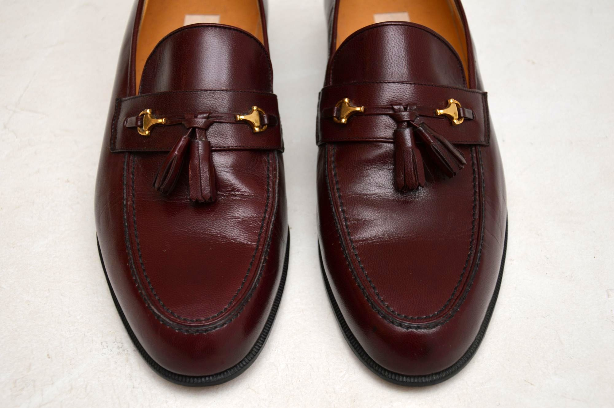 5f6e2c3f4 Vintage Mens Gucci Loafers UK Size 9.5 – Pristine Condition – Never Been  Worn