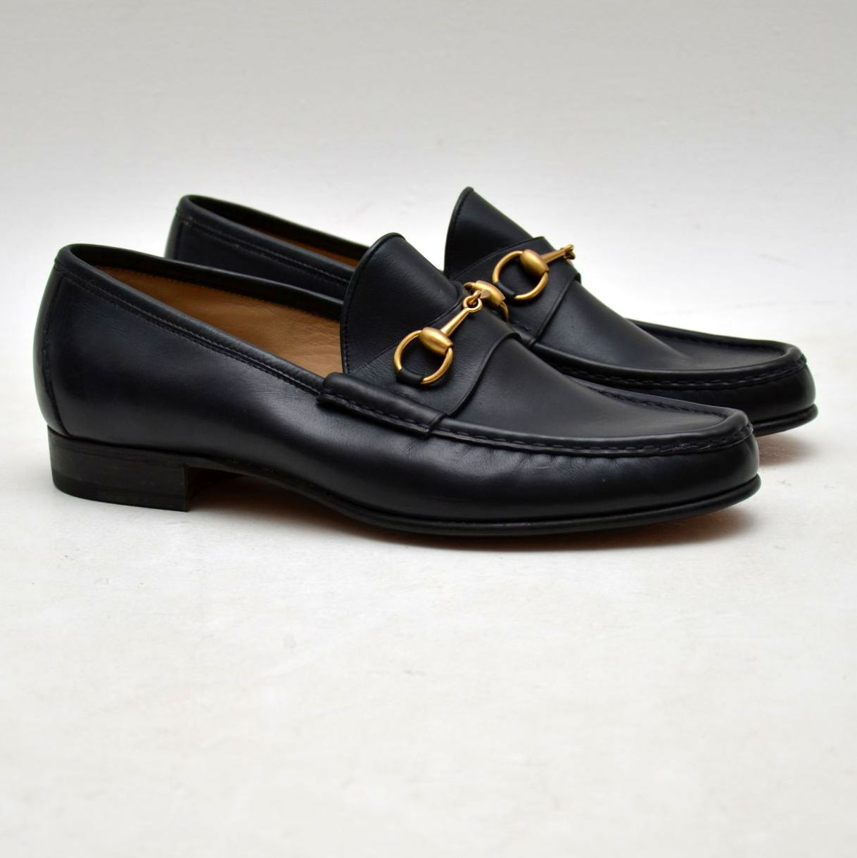 ec5a296e562 Vintage Mens Gucci Loafers UK Size 9.5 - Pristine Condition - Never Been  Worn