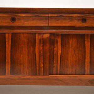 rosewood vintage retro danish sideboard robert heritage archie shine
