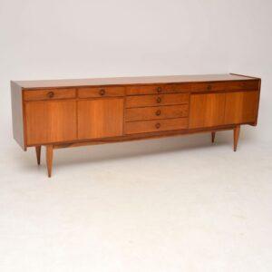 retro vintage walnut sideboard robert heritage archie shine