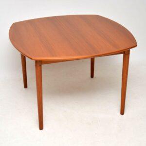 danish vintage retro teak dining table rastad and relling
