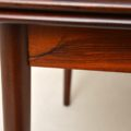 1960's Vintage Danish Rosewood Extending Dining Table