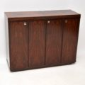 1960's Vintage Danish Rosewood Drinks Cabinet / Bar by Dyrlund