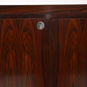 1960's Vintage Danish Rosewood Drinks Cabinet / Bar by Dyrlund