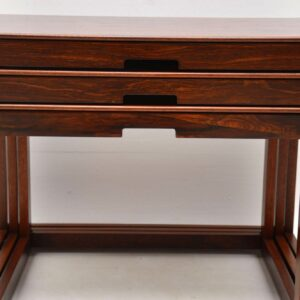 1960's Vintage Rosewood Nest of Tables