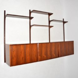 1960's Danish Rosewood Royal Shelving System by Poul Cadovius