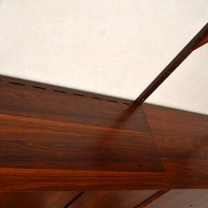 danish rosewood retro vintag cado cadovius royal shelving